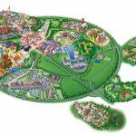 Map Of Disneyland Paris And Walt Disney Studios   Printable Disneyland Paris Map 2018