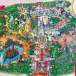 Map Of Disneyland Paris And Walt Disney Studios Regarding Disneyland   Printable Disneyland Paris Map 2018