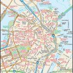 Map Of Downtown Boston | Downtown Boston Street Map | Places   Boston Tourist Map Printable