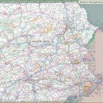 Map Of Eastern Pennsylvania   Printable Road Map Of Pennsylvania
