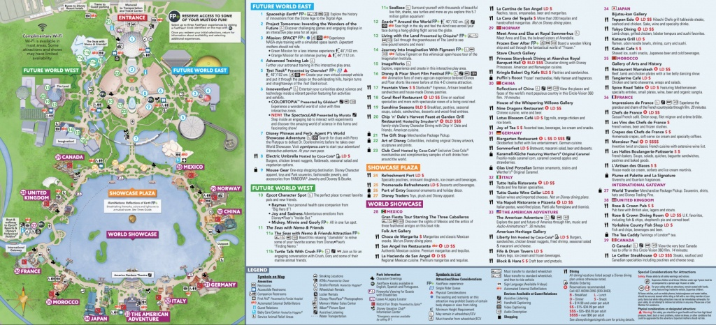 Map Of Epcot (85+ Images In Collection) Page 1 - Printable Map Of Epcot 2015