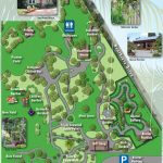 Map Of Exhibits   Heathcote Botanical Gardens   Florida Botanical Gardens Tourist Map
