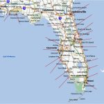 Map Of Florida Coastal Cities And Travel Information | Download Free   Map Of Florida Coastal Cities