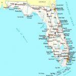 Map Of Florida Coastline   Lgq   Map Of Florida Beach Towns