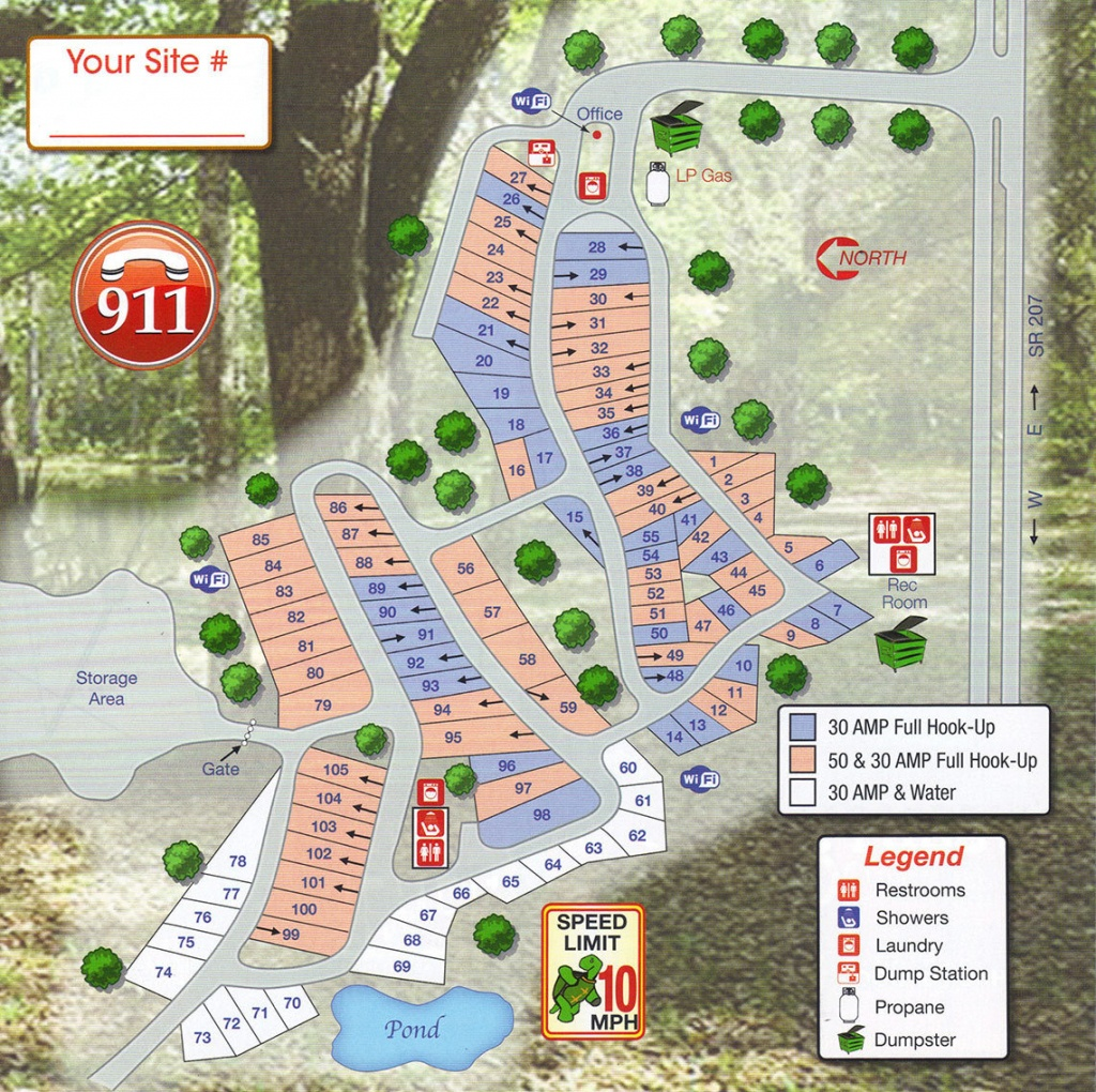 Map Of Florida Rv Parks   Download Them And Print - Map Of Rv Parks In Florida