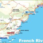 Map Of French Riviera With Cities And Towns   Printable Map Of France With Cities And Towns