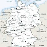 Map Of Germany Political In 2019 | Germany | Map Vector, Map, Germany   Free Printable Map Of Germany