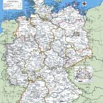 Map Of Germany With Cities And Towns   Free Printable Map Of Germany