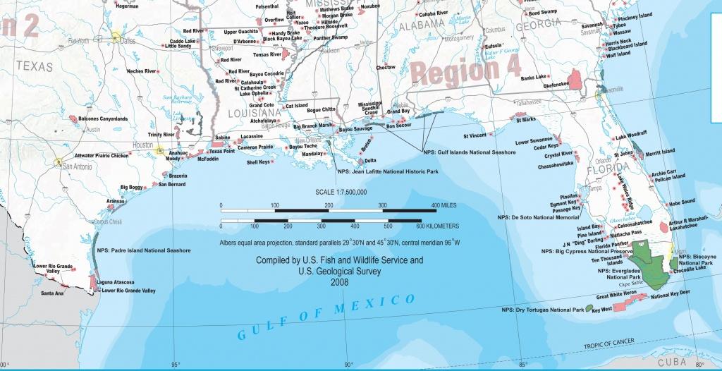 Map Of Gulf Coast Cities | Sitedesignco - Printable Map Of Florida Gulf Coast