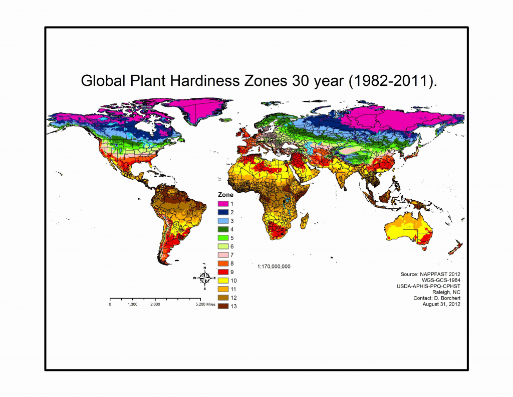 Map Of Hardiness Zones In Us Zones New Plant Zone Chart Lovely Texas - Texas Planting Zones Map