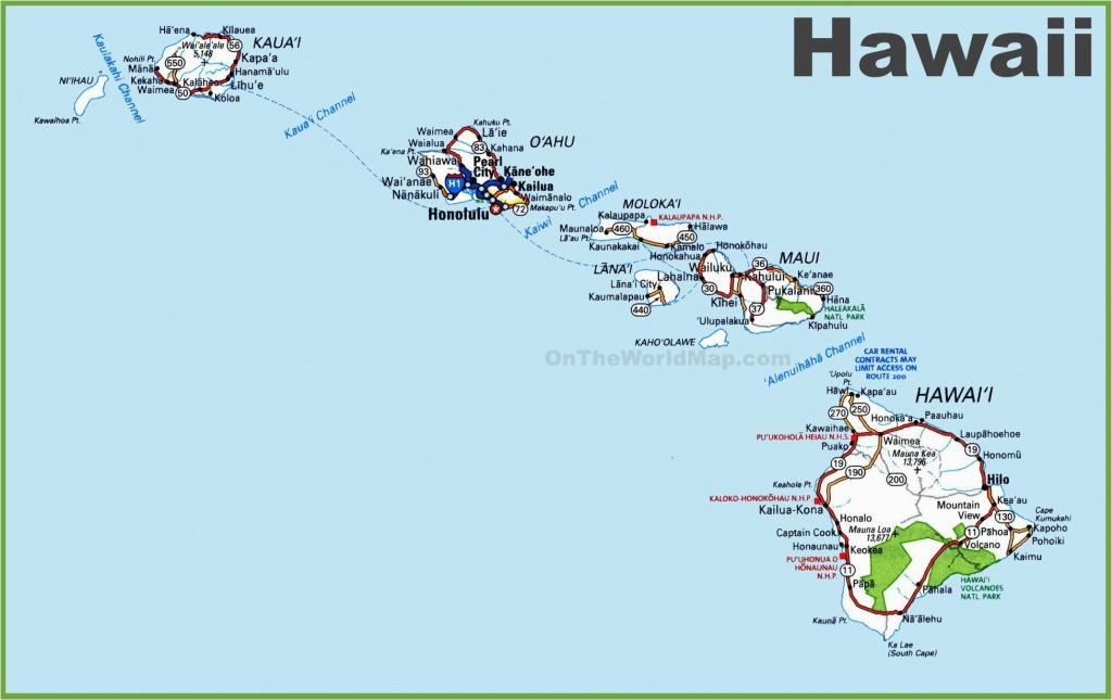 Map Of Hawaiian Islands And California Map Hawaii 12 In West Usa And - Hawaii California Map