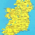 Map Of Irish Cities And Travel Information | Download Free Map Of   Printable Map Of Ireland Counties And Towns