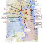 Map Of Jacksonville & Mayport, Florida   Military Town Advisor   Port St John Florida Map