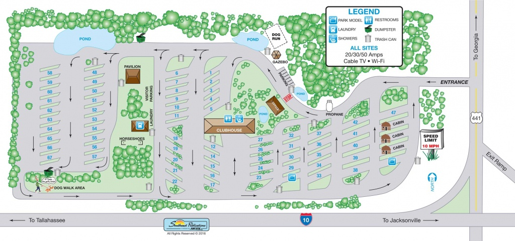 Map Of Lake City Florida - Map Of Lake City Florida And Surrounding Area
