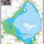Map Of Lake Okeechobee   Dehazelmuis   Fishing Map Of Lake Okeechobee Florida
