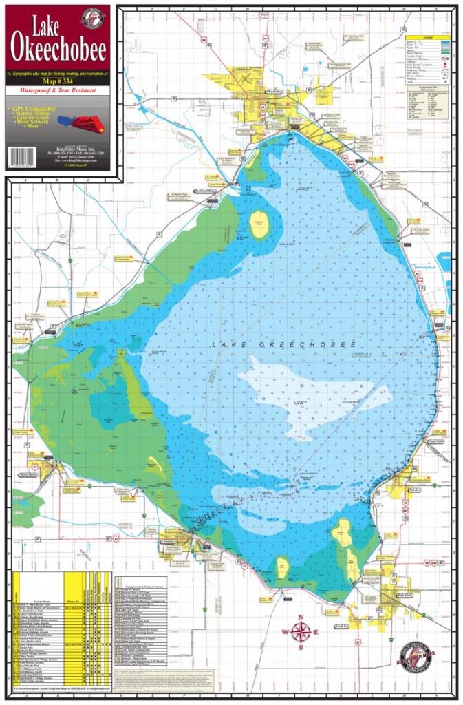 Map Of Lake Okeechobee | Dehazelmuis - Fishing Map Of Lake Okeechobee Florida