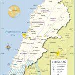 Map Of Lebanon | Travel In 2019 | Lebanon Map, Map, Lebanon – Printable Map Of Lebanon