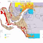 Map Of Lee County Flood Zones   Florida Flood Zone Map