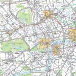 Map Of London With Tourist Attractions Download Printable Street Map   Printable Street Map Of Central London