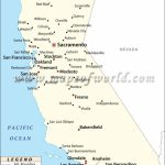 Map Of Major Cities Of California | Maps In 2019 | California Map   Map Of California Cities