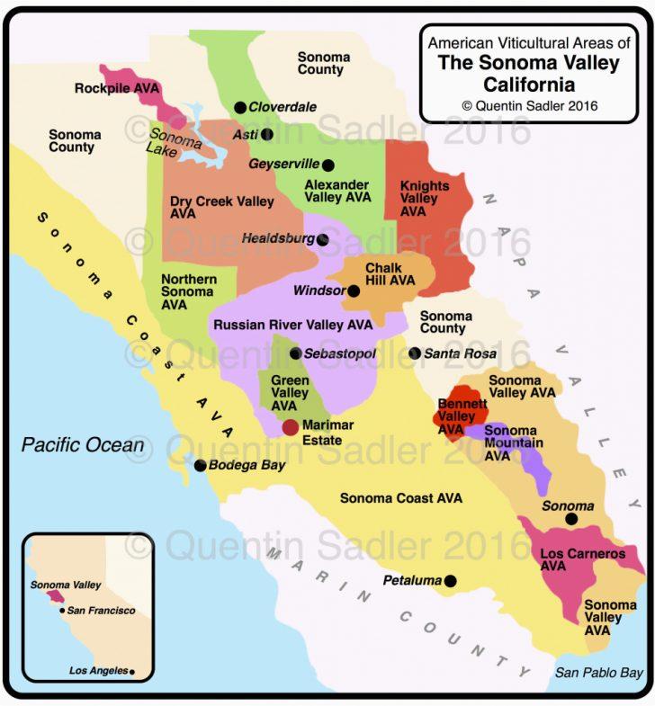 Map Of Malibu California Area