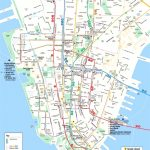 Map Of Manhattan Nyc And Travel Information | Download Free Map Of   Printable Map Of Manhattan Ny