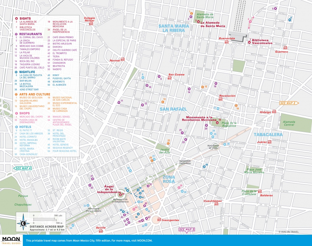 Map Of Mexico Printable - Capitalsource - Printable Map Of Mexico City