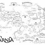 Map Of Narnia | Etsy   Printable Map Of Narnia
