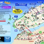 Map Of New York City Attractions Printable |  Tourist Map Of New   Manhattan Sightseeing Map Printable