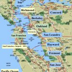 Map Of Northern California Cities Simple Sanfrancisco Bay Area And   San Francisco Bay Area Map California