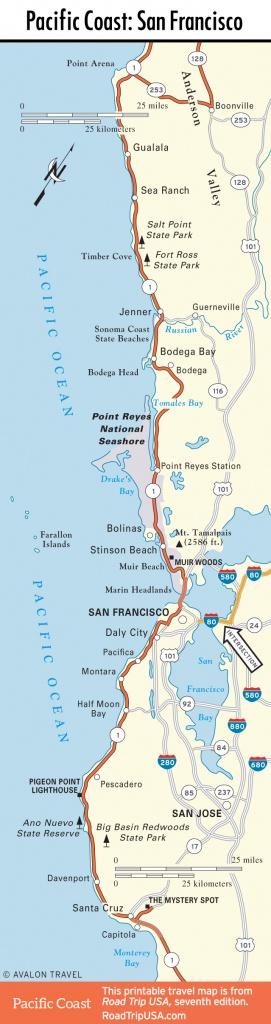Map Of Oregon And California Coast | Travel Maps And Major Tourist - Oregon California Coast Map