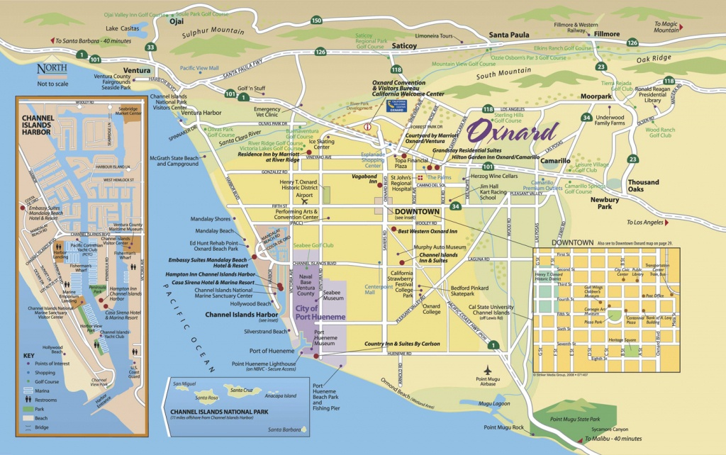 Map Of Oxnard - Find Your Way Around Oxnard And Ventura County - Google Maps Oxnard California