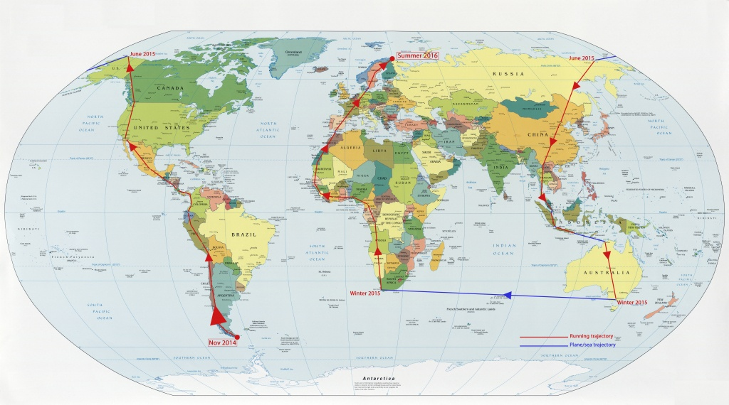 Map Of Printable World Map 2014, - World Map Database - World Maps Online Printable