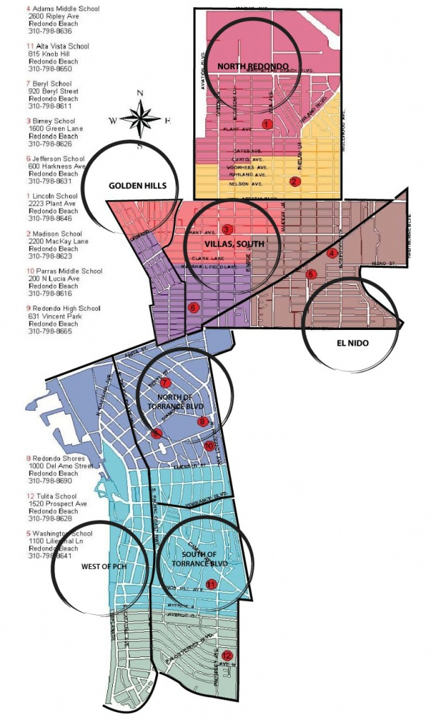 Map Of Redondo Beach | Lynne Lear - Redondo Beach California Map