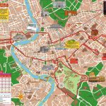 Map Of Rome Tourist Attractions, Sightseeing & Tourist Tour   Printable Map Of Rome Attractions