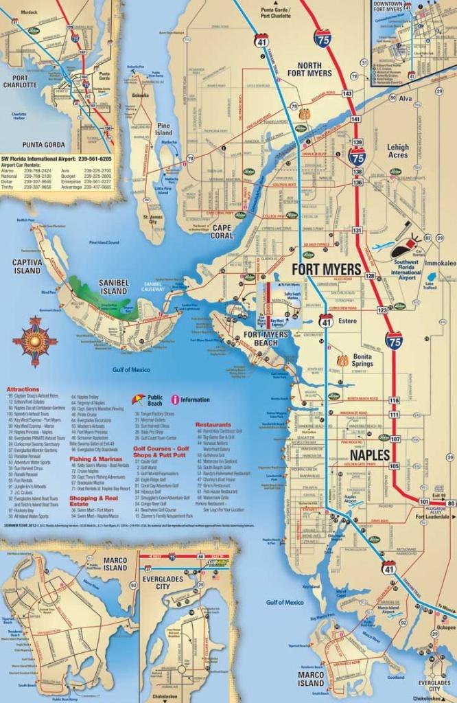 Map Of Sanibel Island Beaches    Beach, Sanibel, Captiva, Naples - Naples Florida Map