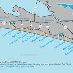 Map Of Scenic 30A And South Walton, Florida   30A   Ft Walton Florida Map