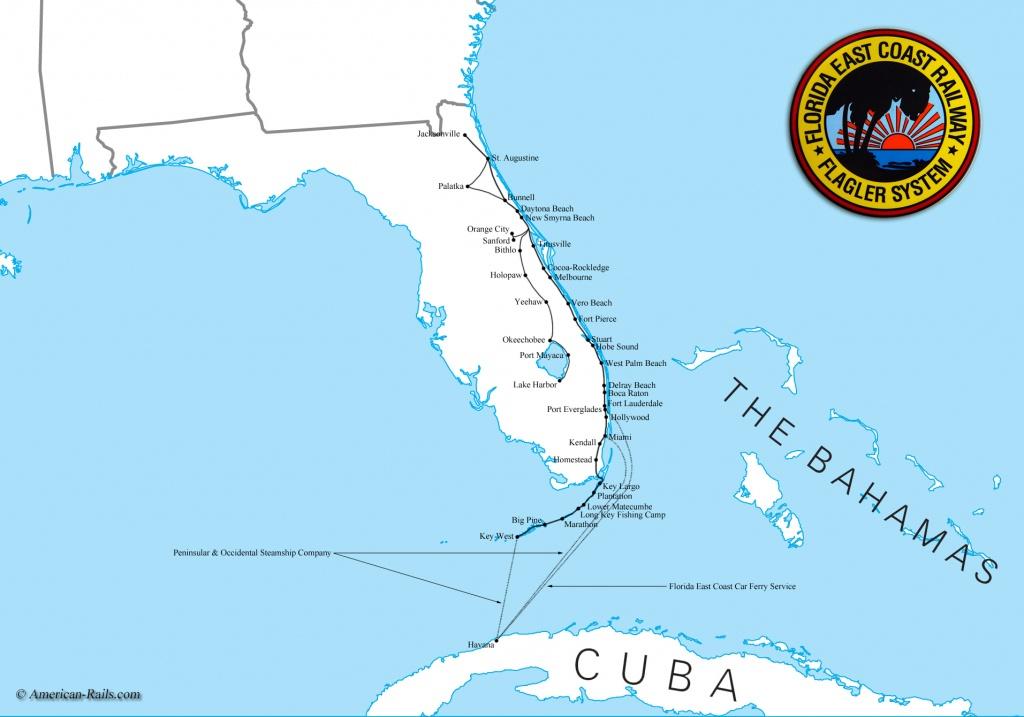 Map Of South Florida Coast - Lgq - Map Of Florida West Coast Cities