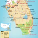 Map Of South Florida, South Florida Map   Map Of East Coast Of Florida Cities