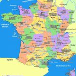 Map Of South France | 2020 Travel In 2019 | France Map, France   Printable Map Of France With Cities And Towns