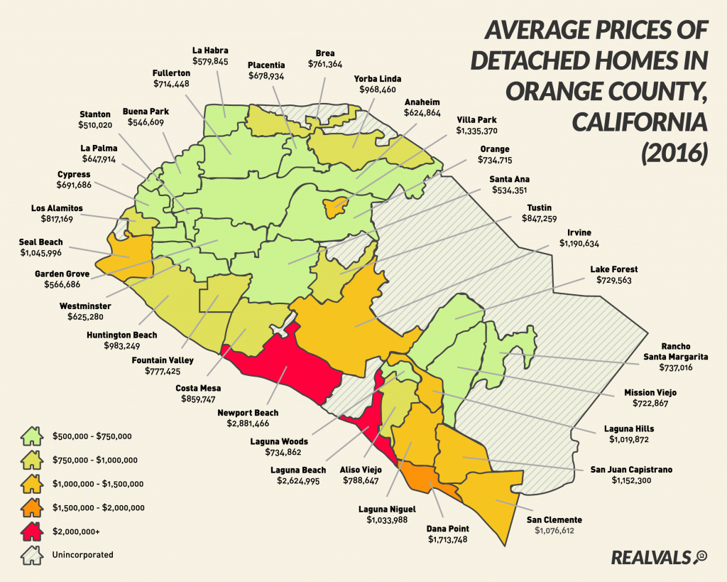 Map Of South Orange County Ca And Travel Information | Download Free - Orange County California Map