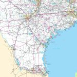 Map Of South Texas   South Texas Road Map