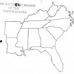 Map Of Southeast Us States   Maplewebandpc   Southeast States Map Printable