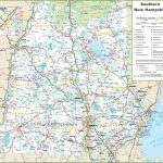 Map Of Southern New Hampshire   New Hampshire State Map Printable