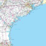 Map Of Texas Coastal Cities And Travel Information | Download Free   Texas Coastal Fishing Maps
