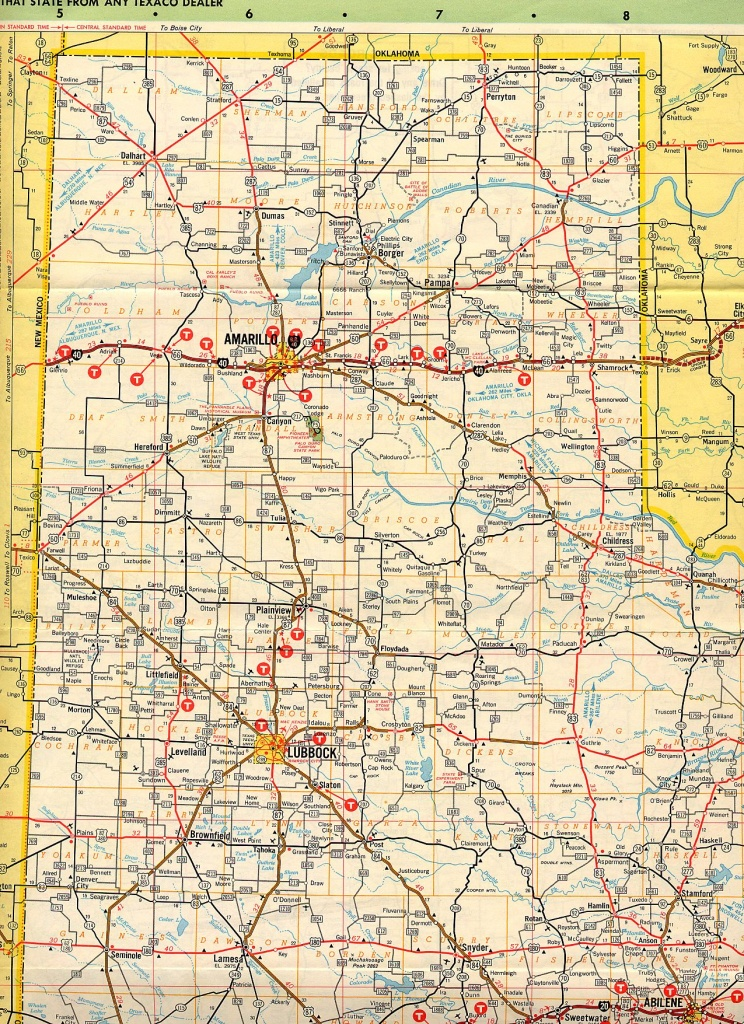 Map Of Texas Panhandle | Business Ideas 2013 - Texas Panhandle Road Map