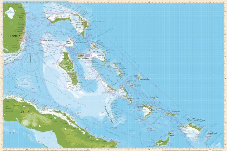 Map Of Florida And Bahamas