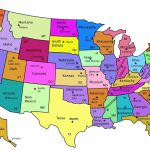 Map Of The Us States Labeled Best A Printable United America With 8   Map Of The United States With States Labeled Printable