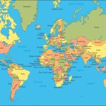 Map Of The World A4 Size | World Political Map   The World Maps! I   World Map Printable A4