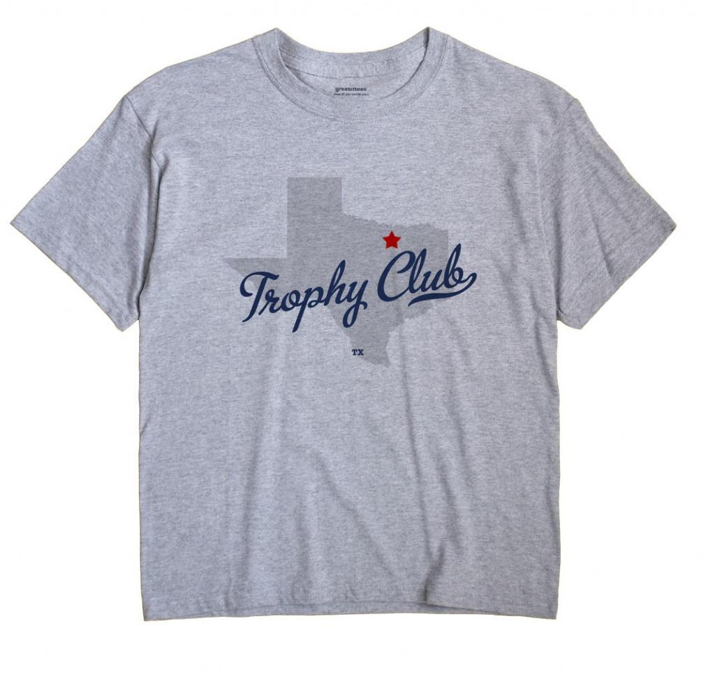 Map Of Trophy Club, Tx, Texas - Trophy Club Texas Map